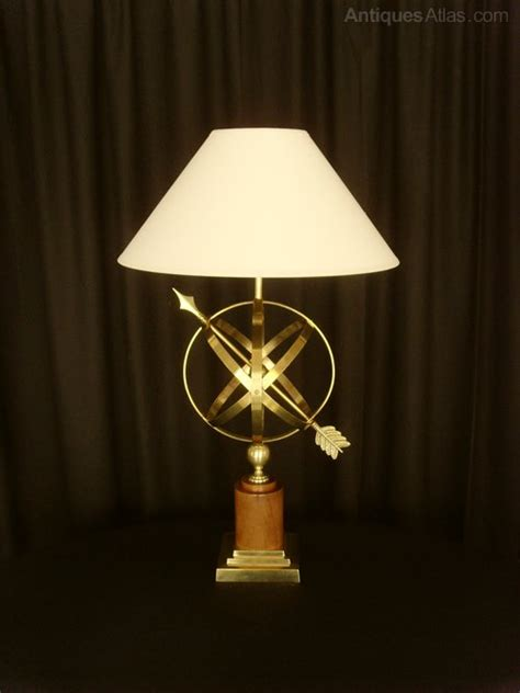 Sphere Table L by Antiques Atlas Brass Armillary Sphere Table L Shade