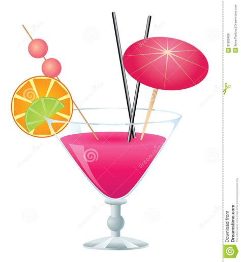 martini clipart no background pink cocktail stock vector illustration of booze party