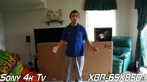 80 Inch Tv Unboxing by 65 Quot Sony Bravia 4k Ultra Hd Tv Unboxing Review Xbr
