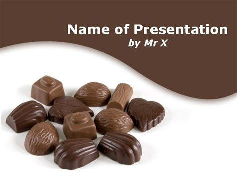 chocolate templates for powerpoint free download chocolate chunks powerpoint template
