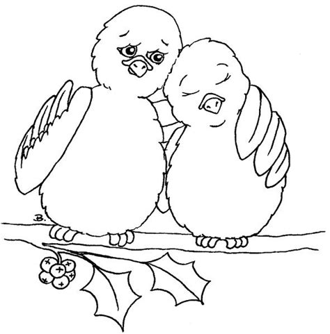turtle dove coloring page two turtle doves printables pinterest