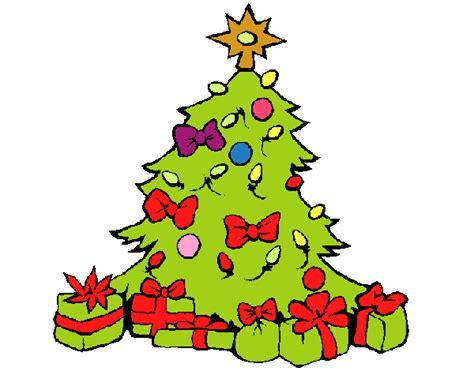 arbol de navidad pintado dibujo de 193 rbol de navidad pintado por en dibujos net el