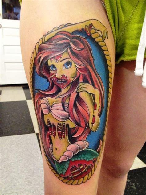 tattoo zumbi new school 15 scary zombie tattoo designs for you to try instaloverz