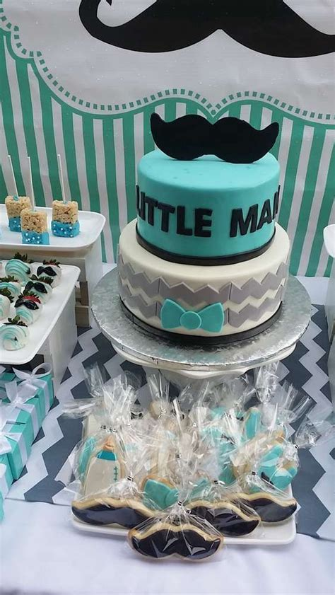 Baby Boy Shower Decor by Mustache Baby Showers Baby Shower And Shower