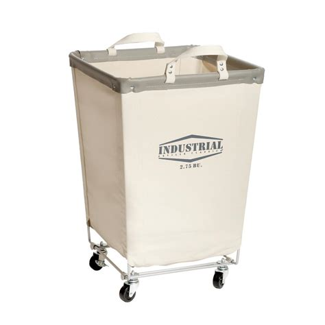 laundry cart seville classics commercial canvas laundry her cart