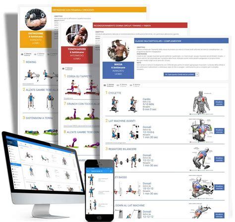 programma di allenamento a casa programma allenamento casa