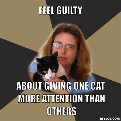Crazy Cat Lady Meme - are you one of the crazy cat people girlsaskguys