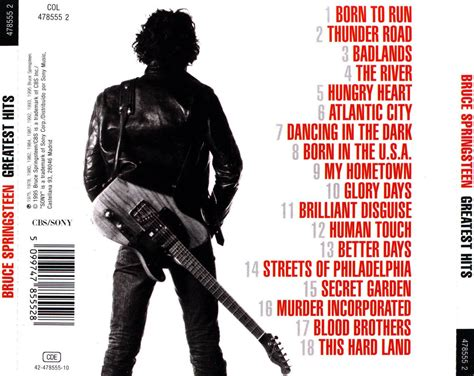best bruce springsteen album bruce springsteen greatest hits cd