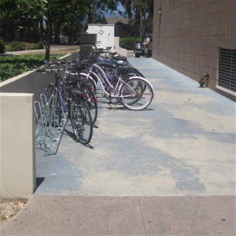 Angled Bike Rack by Cus Racks