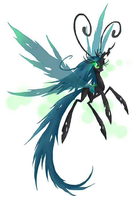 my little pony queen chrysalis breezie by kaizerin on