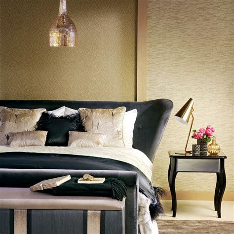 black  gold bedroom ideas black gold  silver
