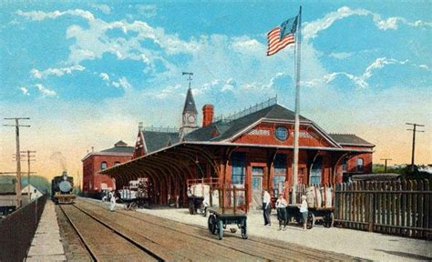 woonsocket rhode island railroads