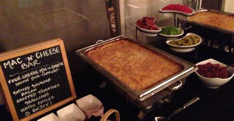 Macaroni Bar Toppings by Mac Cheese Bar Eat Me Gourmet Catering Scottsdale