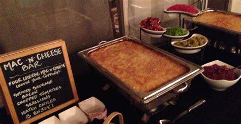 macaroni bar toppings mac cheese bar eat me gourmet catering scottsdale