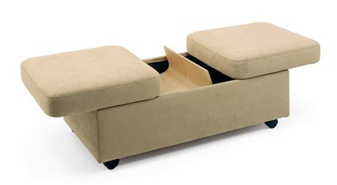 Circle Furniture Stressless Double Ottoman Storage