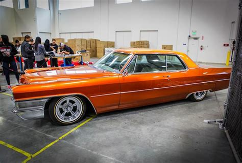 barker cadillac travis barker s 65 cadillac coupe gets a
