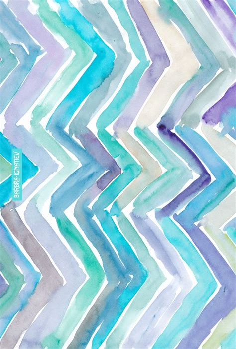 watercolor chevron pattern daily color 121 cool chevron 183 barbarian by barbra