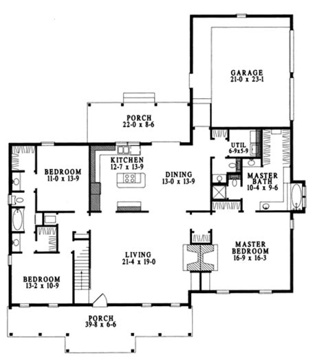 fireplace floor plan double fireplace 6225v architectural designs house plans