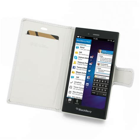 Flipcaseflipcover Blackberry Z3 Jakarta blackberry z3 leather flip carry cover white pdair book