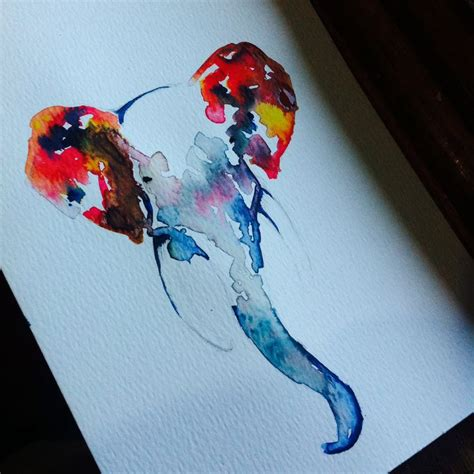 watercolor elephant tutorial 65 best elephants watercolor images on pinterest