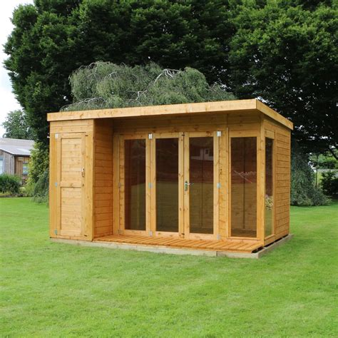 How High Can A Shed Be Without Planning Permission by 12x8 Wooden Shiplap T G Summerhouse Side Shed