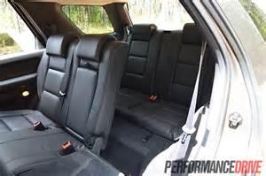 2012 ford territory titanium tdci rwd third row seats