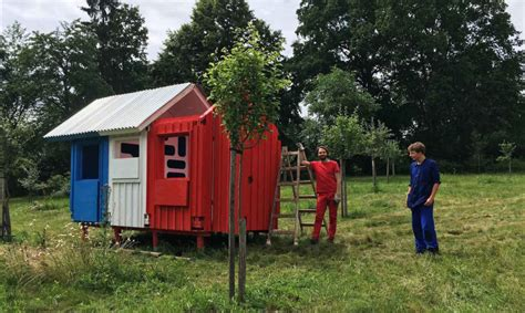 tiny house france france is a 1 200 tiny house that snaps together in
