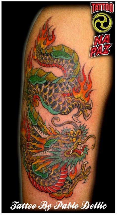 tattoo oriental brasil tatuagem de drag 227 o chines chinese dragon tattoo by pablo