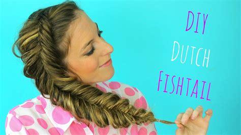 how to dutch fishtail braid elsa hair youtube diy dutch fishtail braid hair tutorial braidsandstyles12