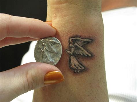 guardian angel tattoos small 45 staggering small tattoos creativefan