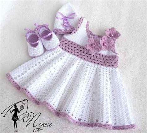 vestidos tejidos a crochet para bebes vestidos tejidos para bebe con patrones buscar con