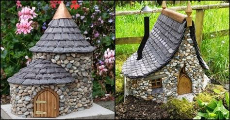 how to build a gnome house make a miniature stone fairy house diy projects for everyone
