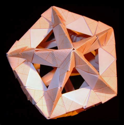 Platonic Solids Origami - platonic solid by wolbashi on deviantart