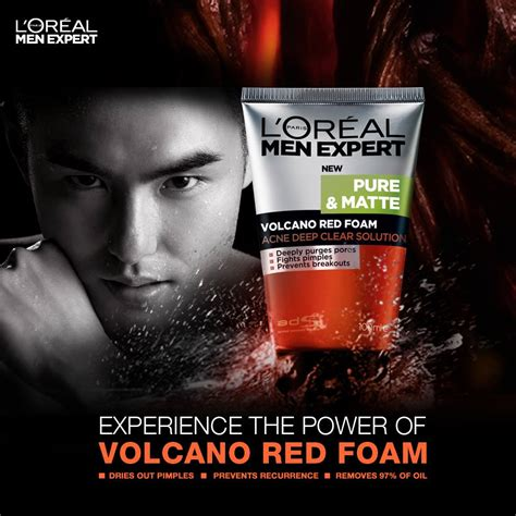 Loreal Volcano l oreal expert s revolutionary new products the