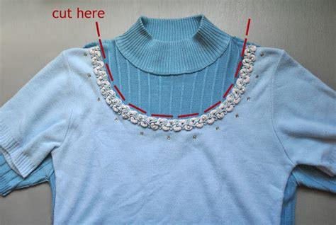 diy sweater makeover diy tutorial sweater makeover flashback summer