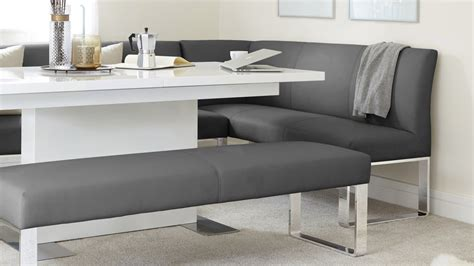 Modern Dining Table With Bench by 5 Seater Left Hand Corner Bench And Extending Dining Table