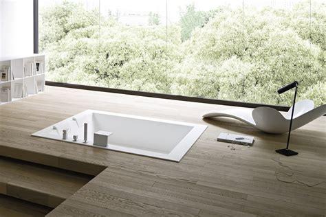 vasche da bagno incassate vasca da bagno centro stanza in corian 174 da incasso unico