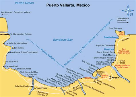 Mexico Search For Map Of Vallarta With Resorts Search