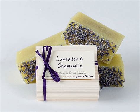 By Nature Handmade Soaps - gift box of handmade guest soaps by second nature soaps