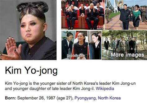 bio data kim jong un google thinks this is kim jong un s younger sister telegraph