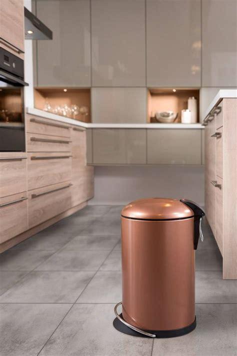 cleverstorage waste bins in copper amp gold