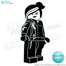 Kaos Lego Graphic 12 character decals wall