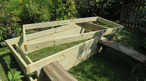 build  raised bed vegetable garden frame cost