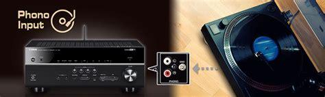 av receiver mit phono eingang yamaha rx v781 black 7 2 channel av receiver w musiccast