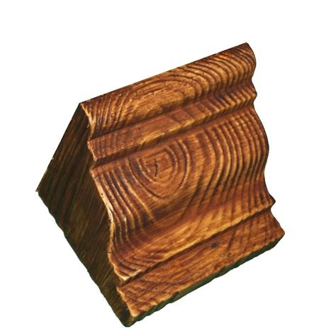 Faux Wood Corbels by 5 3 4 In X 5 3 4 In X 7 1 4 In Prefinished Polyurethane
