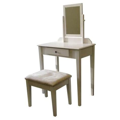 Home Depot Vanity Sets by Home Decorators Collection White Bedroom Vanity With Bench