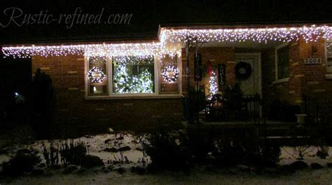 hanging christmas lights in windows easy how to hang lights the easy way washingtonian post