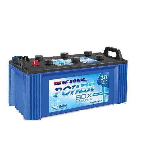 Box Inverter Exide Sf Sonic Inverter Battery Power Box 135ah Price In
