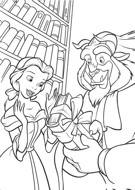 disney beauty and the beast coloring pages to print free printable beauty and the beast coloring pages for kids