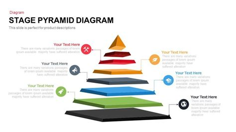 Stage Pyramid Diagram Powerpoint And Keynote Template Slidebazaar Powerpoint Pyramid Template